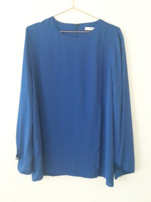 MANGO suit Collection Bluse XL blau oversize arket cos &otherstories