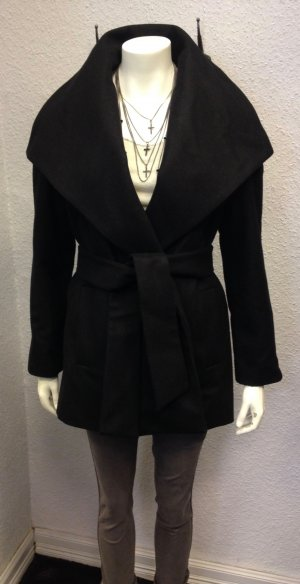 Mango Suit Collection Mantel Kragen Black Gr. S