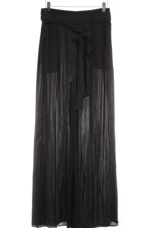 Mango Suit Culottes schwarz Elegant