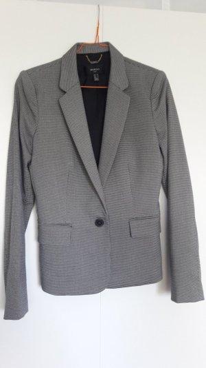 Mango Suit Damen Business Anzug Kostüm Blazer + Hose Hahnentritt-Muster schwarz weiß Gr. 36