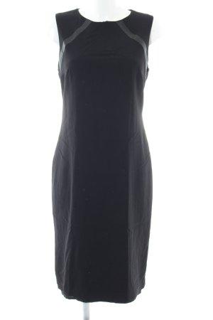 Mango Suit Etuikleid schwarz-hellgrau Elegant
