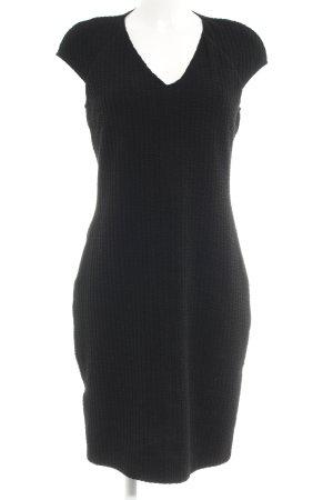 Mango Suit Etuikleid schwarz Business-Look