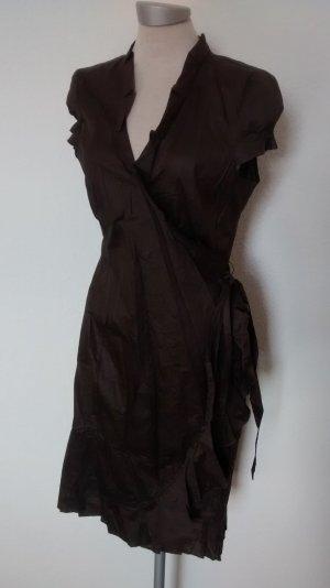 Mango Suit Wraparound brown-dark brown
