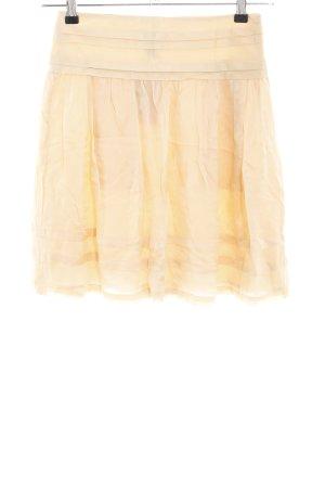 Mango Suit Faltenrock creme Casual-Look
