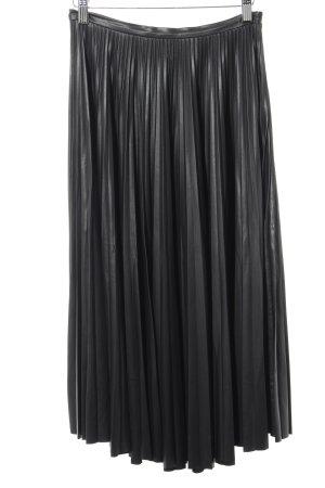 Mango Suit Gonna a pieghe nero stile da moda di strada