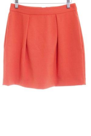 Mango Suit Jupe évasée orange style décontracté