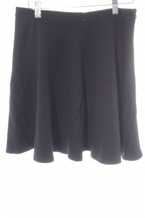 Mango Suit High Waist Rock schwarz schlichter Stil