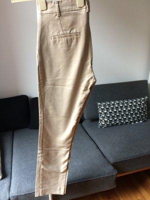 MANGO Suit Hose 7/8 Hose High-waist beige Gr. 34 (D)