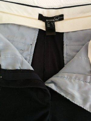 Mango Suit Chinos dark blue