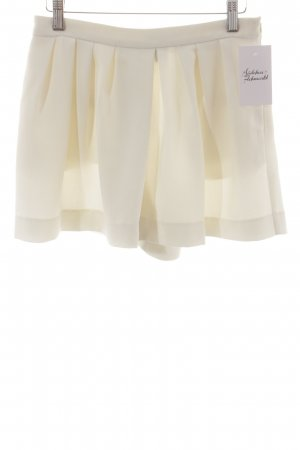 Mango Suit Gonna culotte crema stile minimalista