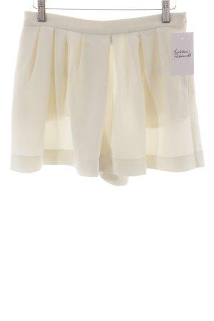Mango Suit Hosenrock creme minimalistischer Stil