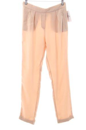 Mango Suit Hüfthose apricot Eleganz-Look