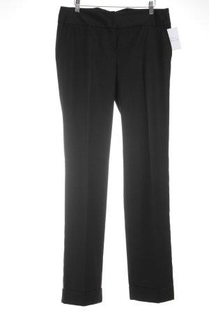 Mango Suit Hüfthose schwarz Casual-Look