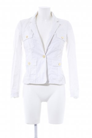 Mango Suit Jeansjacke weiß Marine-Look