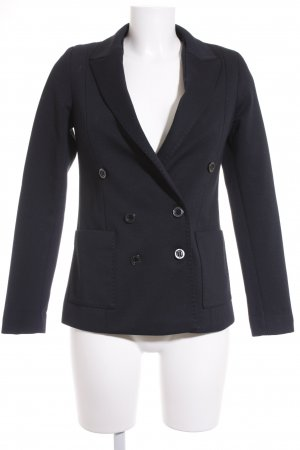 Mango Suit Jerseyblazer dunkelblau Business-Look