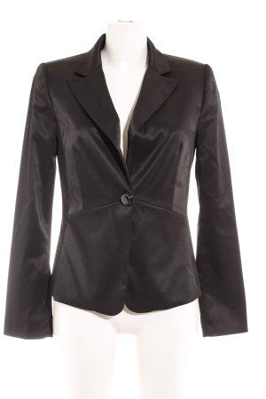 Mango Suit Jerseyblazer schwarz Business-Look