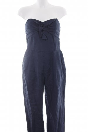 Mango Suit Jumpsuit dunkelblau extravaganter Stil