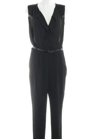 Mango Suit Tuta nero elegante