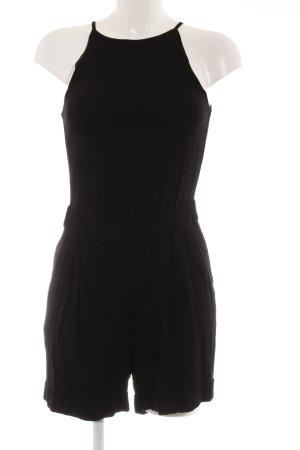Mango Suit Jumpsuit schwarz schlichter Stil