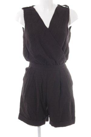 Mango Suit Tuta nero modello web stile casual