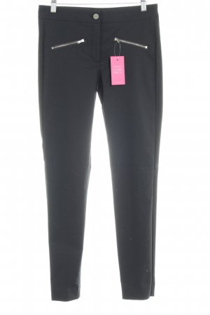 Mango Suit Pantalone peg-top nero stile professionale