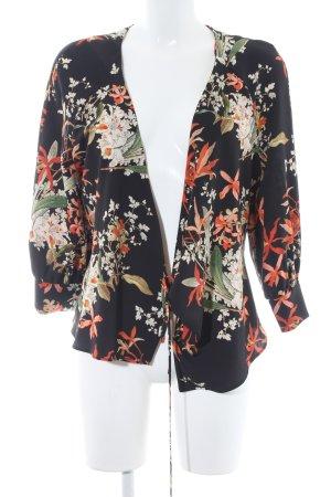 Mango Suit Blusa tipo kimono estampado floral estilo romántico