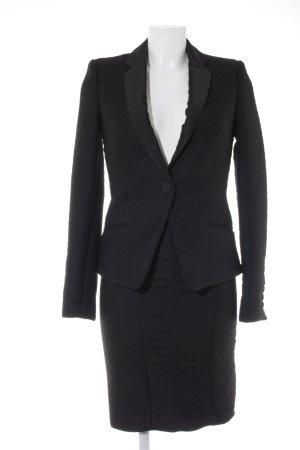 Mango Suit Kostüm schwarz Business-Look