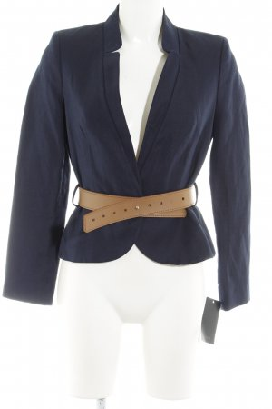 Mango Suit Kurz-Blazer dunkelblau Business-Look