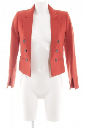 Mango Suit Kurz-Blazer rot Business-Look
