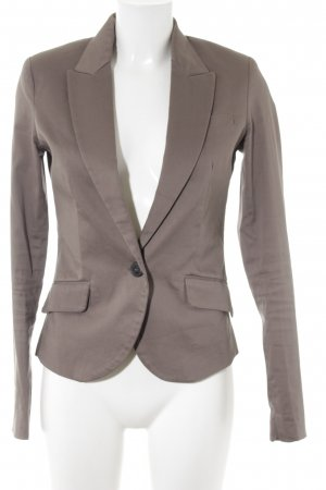 Mango Suit Kurz-Blazer hellbraun Business-Look