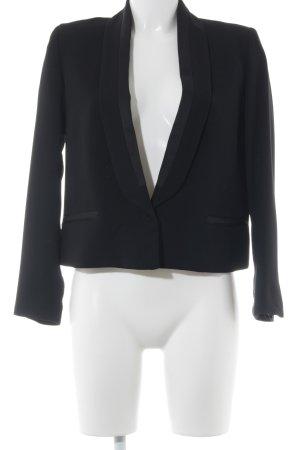 Mango Suit Kurz-Blazer schwarz Elegant