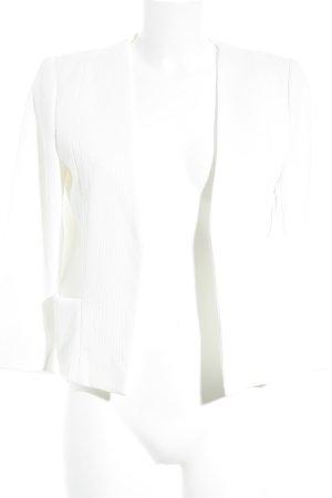 Mango Suit Kurz-Blazer weiß Elegant