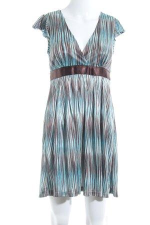1b9aa5668dd Mango Suit Shortsleeve Dress striped pattern wet-look