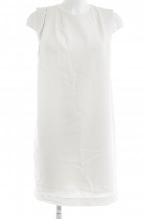 Mango Suit Kurzarmkleid wollweiß Elegant