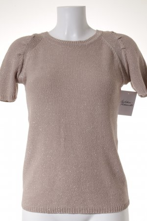 Mango Suit Short Sleeve Sweater rose-gold-coloured-nude elegant