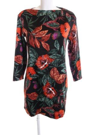 Mango Suit Langarmkleid Blumenmuster Casual-Look