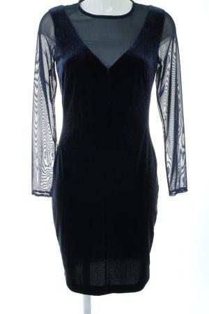 Mango Suit Langarmkleid blau Elegant