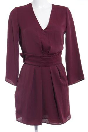 Mango Suit Langarmkleid purpur Business-Look