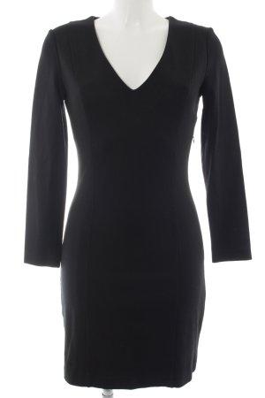 Mango Suit Langarmkleid schwarz schlichter Stil