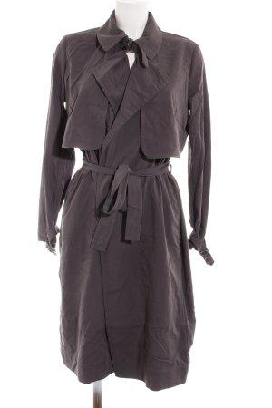 Mango Suit Veste longue gris style d'affaires