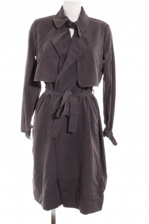 Mango Suit Lange Jacke grau Business-Look