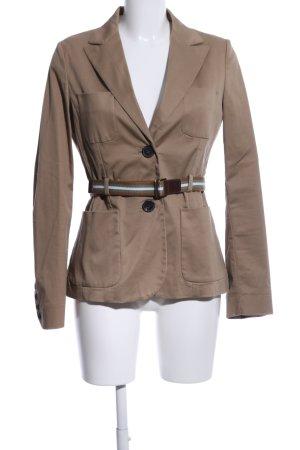 Mango Suit Blazer lungo marrone stile casual