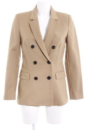 Mango Suit Long-Blazer camel Business-Look