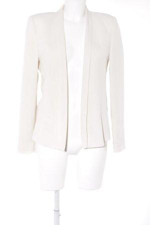 Mango Suit Long-Blazer hellbeige Business-Look