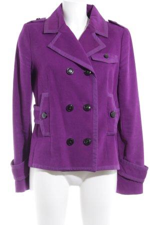 Mango Suit Blazer largo lila estilo urbano