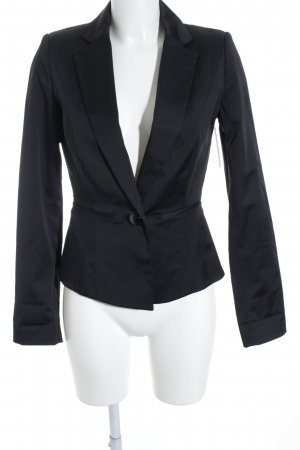 Mango Suit Long-Blazer schwarz Business-Look