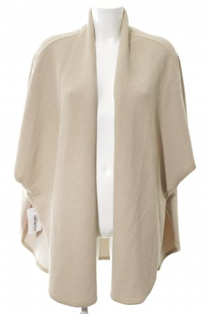 Mango Suit Long Knitted Vest natural white casual look