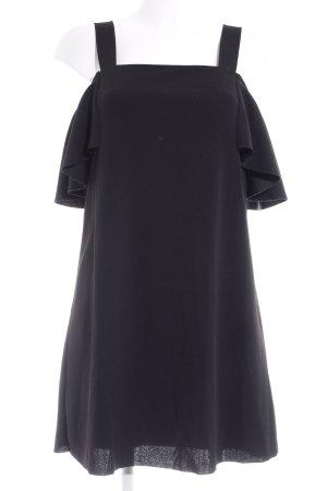 Mango Suit Top lungo nero stile semplice
