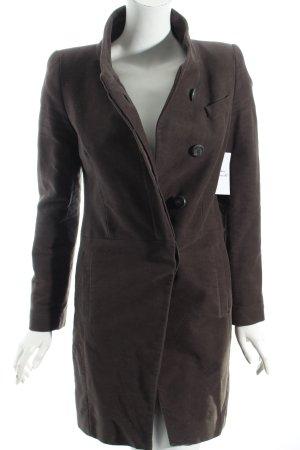 Mango Suit Mantel grüngrau klassischer Stil