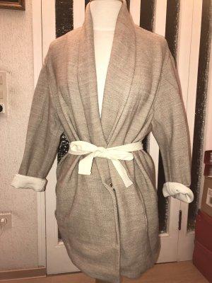 Mango Suit Mantel mit Gürtel